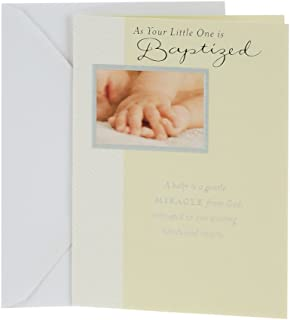 roman catholic baptism cards