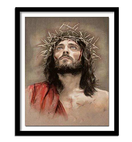 Diy diamant schilderij Jezus Christus geboorte muurschildering 3d Diamond patroon hars Rhinestone Craft 30x40cm
