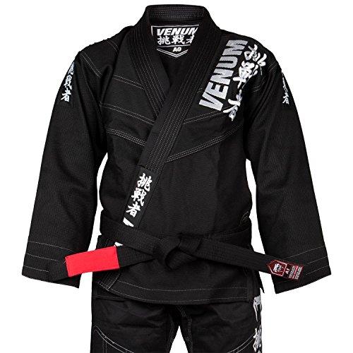 Venum Challenger 4.0 BJJ Kimono, Hombre, Negro, A3 (L)