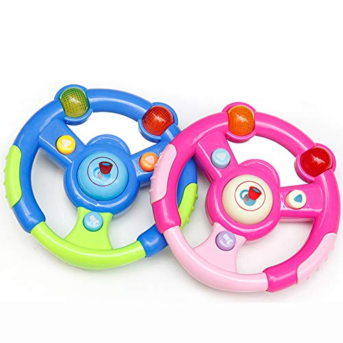 Why Should You Buy ocijf179 Children Music Realistic Electric Steering Wheel with LED Educational Ki...
