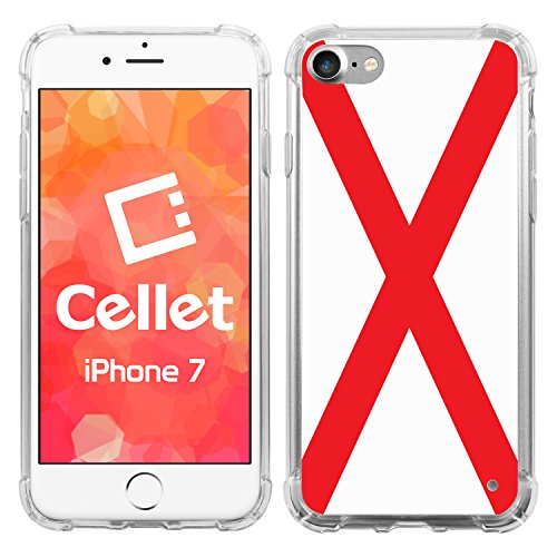 Cellet Alabama Flag 1 Design TPU/PC Proguard Cell Phone Case for Apple iPhone 7