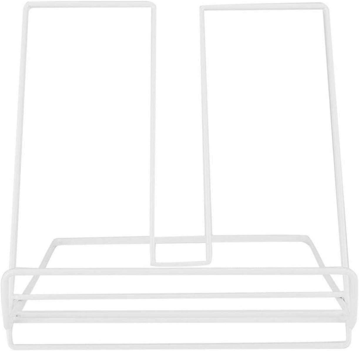 Book Holder,Iron Innovative Tabletop Book Shelf Rack Holder Tabl