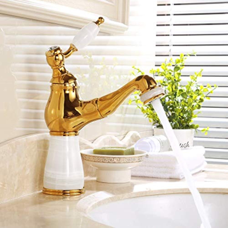 XHSSF-Badezimmerhahn Ganzkupferbadewanne im europischen Stil, universeller Kalt - und Warmwasserhahn,B