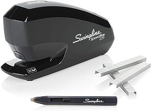 Swingline Electric Stapler, Speed Pro 25 Value Pack, 25 Sheet Capacity, includes Staple Remover and Premium Staples, Black...