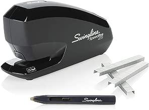 Swingline Electric Stapler, Speed Pro 25 Value Pack, 25 Sheet Capacity, includes Staple Remover and Premium Staples, Black (42140)