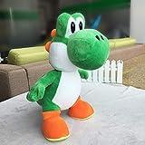 siqiwl Peluche 50cm Super Mario Bros De Pie Yoshi Dragon Muñecos De Peluche De Juguete Suave Yoshi Peluche Muñeca Niños Regalos