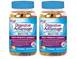 Probiotic Gummy for Adults, Digestive Advantage, Gluten-Free, Survives 100x Better, Assorted Fruit Flavors, Supports Digestive Health (240 Count)