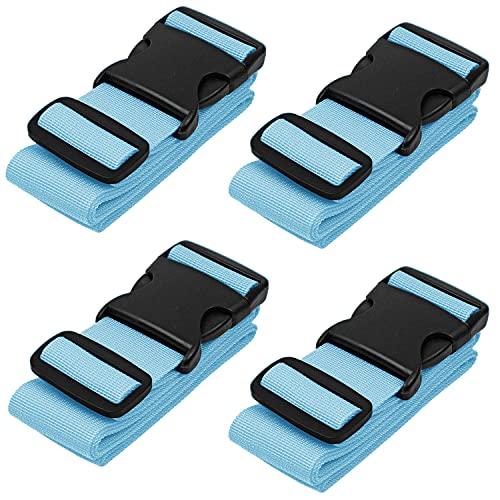 BlueCosto Luggage Straps