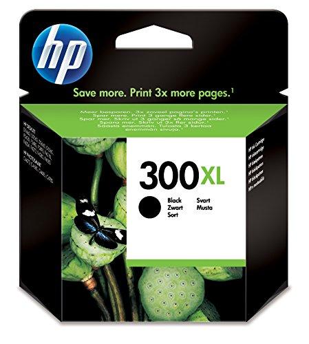 HP 300XL Black Ink Cartridge Negro cartucho de tinta -