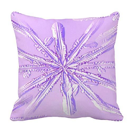 Perfecone Home Improvement - Funda de almohada (algodón, 80 x 80 cm), diseño de tortuga, color morado