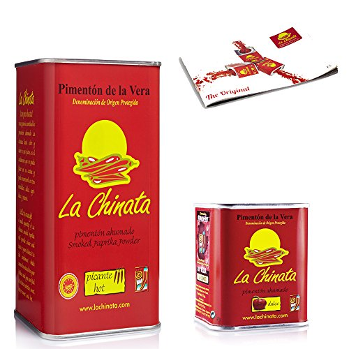 Paprika Affumicata La Chinata Piccante 750g y Dolce 70g