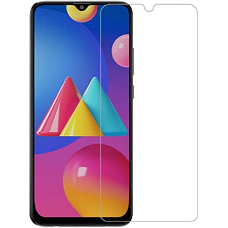 PRASO TECH Screen Protector for Samsung Galaxy M42 5G / M12 / M02s / M02 / A12 / F12 / A02 / A02s (Transparent) Full Screen Coverage Except Edges with Easy Installation Kit
