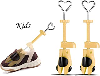 Valentoria Back to School Supplies Deals 2019-Shoe Stretcher for Kids fit for 7-15 Years Old Chidren,2-Way Shoe Stretcher Stretches Length Width Gifts for Kids (Yellow, Kids)