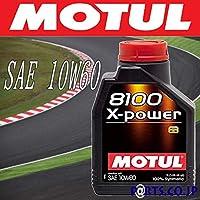MOTUL 8100 X-power 10W60 1Lx3 日産 ブルーバード シルフィ QG10 QG18DE