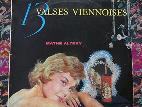 Mathé Altéry : 13 valses viennoises - disque pathé SPTX 340 136
