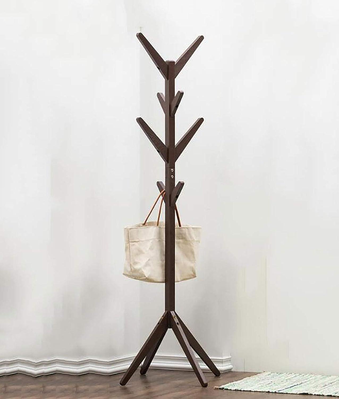 Coat Rack Wood, Bedroom Hanger, Simple Modern Clothes Rack, Floor Hanger (color   B)