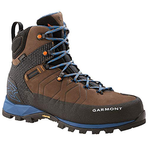 Garmont Men's Toubkal Gtx Hiking Boot Dk Brown/Blue 9