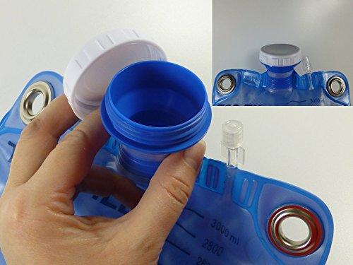 Klistier, Einlauf, Klistierbeutel 3 Liter mit Darmrohr und Metallösen zum sicheren Aufhängen des Beutels