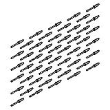Aibecy Puntas de repuesto de la pluma de 50pcs / Pack para UGEE P50SD / P50ST para XP-PEN P02 Tableta gráfica Dibujo...