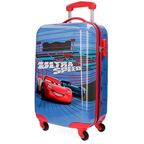 Disney Ultra Speed Equipaje Infantil, 55 cm, 33 litros, Multicolor