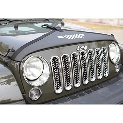 1 Paio Esyauto Jeep Unlimited JK Cofano Jeep Wrangler JK 2007-2017 Cofano Latch Anti-Ladro Cofano Chiusure a Scatto con Kit