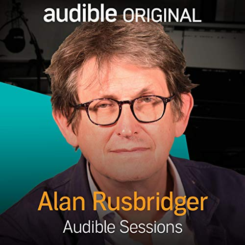 Alan Rusbridger audiobook cover art