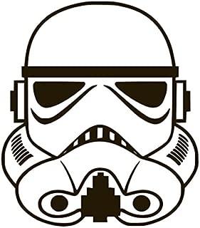 Stormtrooper Star Wars Vinyl Sticker Decals for Car Bumper Window MacBook pro Laptop iPad iPhone Samsung (3