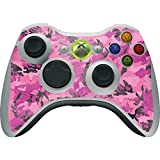 Skinit Decal Gaming Skin Compatible with Xbox 360 Wireless Controller - Originally Designed Pink Camouflage Design