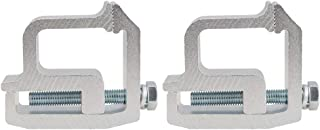prasku 2X Aluminum Automobile Cap Topper Shell Clamps for Tite Lok Clamps -2002