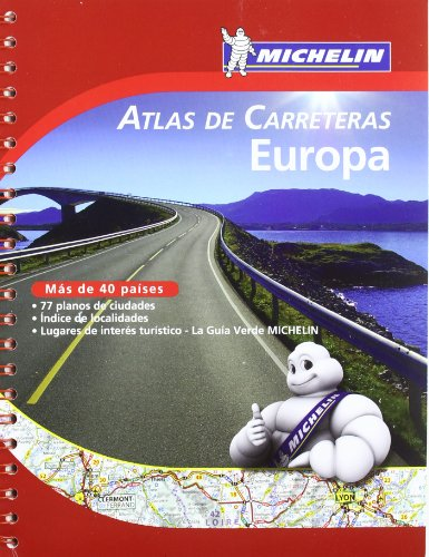 Europa Atlas carreteras Atlas carreteras Michelin