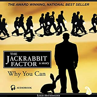 The Jackrabbit Factor audiobook cover art