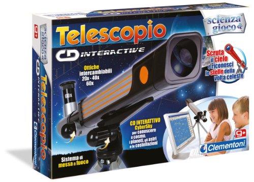 Clementoni 12710 - Scienza e Gioco, Il Telescopio Cd-Interactive