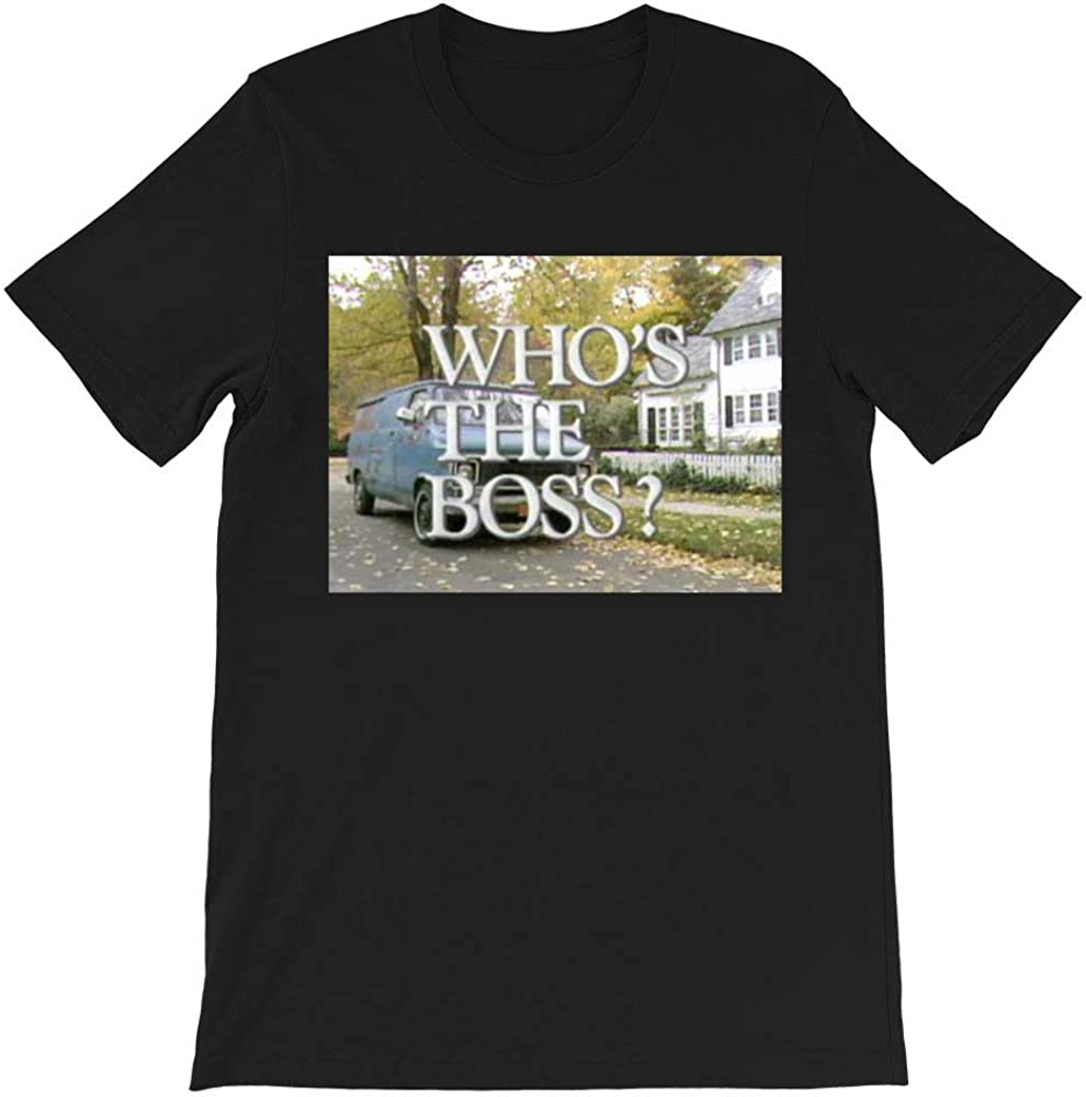 Amazon Com Retro 90s Who S The Boss Sitcom Angela Bower Tony Micelli Samantha Micelli Mona Robinson Funny For Men Women Unisex T Shirt Clothing