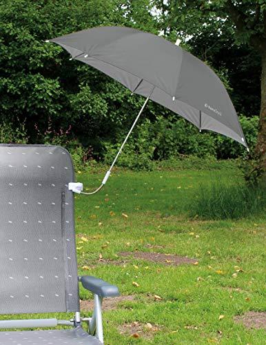 Eurotrail Stuhl-Sonnenschirm Farbe grau
