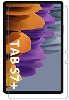 MARGOUN for Samsung Galaxy Tab S7 Plus Screen Protector (SM-T970 / T975 / T976) 12.4 inch 2020, 9H Hardness HD Clear Tempe...