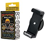 FREAKMOUNT Billet Solid Aluminum Freaky Strong Magnetic Phone Mount - Designed for Motorcycles, Gym, Toolbox, Mechanics - Perfect for Wireless Earphones - Strong Spring Grip - Fits All Phones