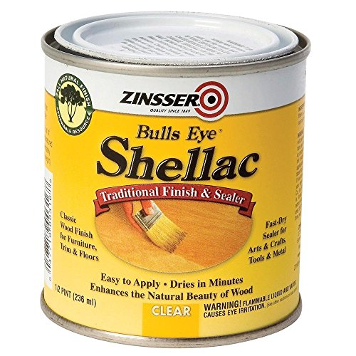 Bulls Eye Shellac, Clear, Half Pint