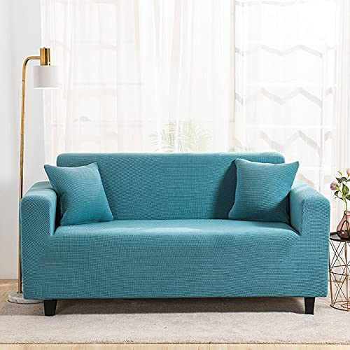 WXQY Funda de sofá elástica Simple Todo Incluido Funda de sofá de Esquina elástica combinada en Forma de L Funda de sofá de protección para Mascotas A4 3 plazas