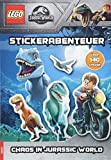 LEGO® Jurassic World - Stickerabenteuer - Chaos in Jurassic World