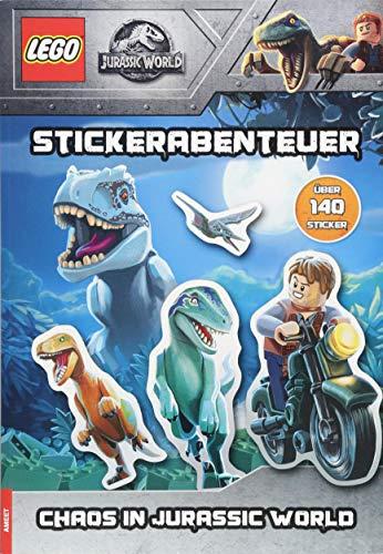 LEGO® Jurassic World - Stickerabenteuer - Chaos in Jurassic World