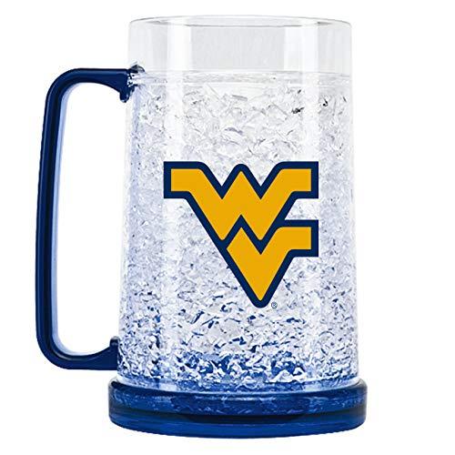 NCAA West Virginia Mountaineers Tasse de congélation en cristal 473 ml