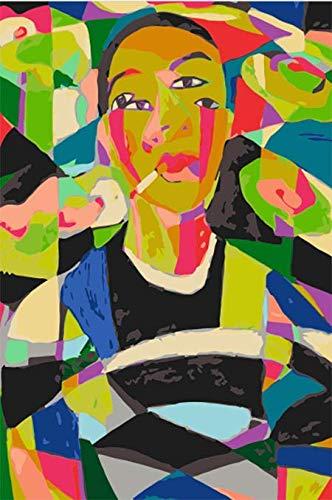 AQgyuh Puzzle 1000 Piezas Carácter de Imagen Abstracta Puzzle 1000 Piezas clementoni Educativo Divertido Juego Familiar para niños adultos50x75cm(20x30inch)