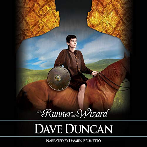 The Runner and the Wizard audiobook cover art