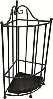 Yxsd Umbrella Stand Umbrella Rack Metal Free Standing Holder, for Canes/Walking Sticks, with Drip Tray, 59.5 33cm