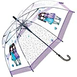 Paraguas niña Transparente Gorjuss Friends varios colores