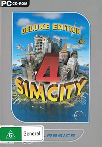 SimCity 4 Deluxe Edition - EA Value (PC CD) [Edizione: Regno Unito]
