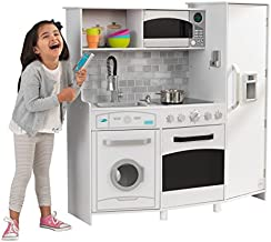 KidKraft Large Play Kitchen with Lights & Sounds - White