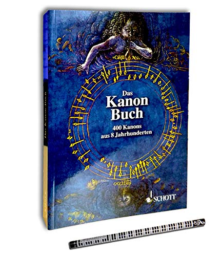 El libro de canones: 400 cañones de 8 siglos en todas las ocasiones – Manual práctico para música en chören, escuelas y familias.