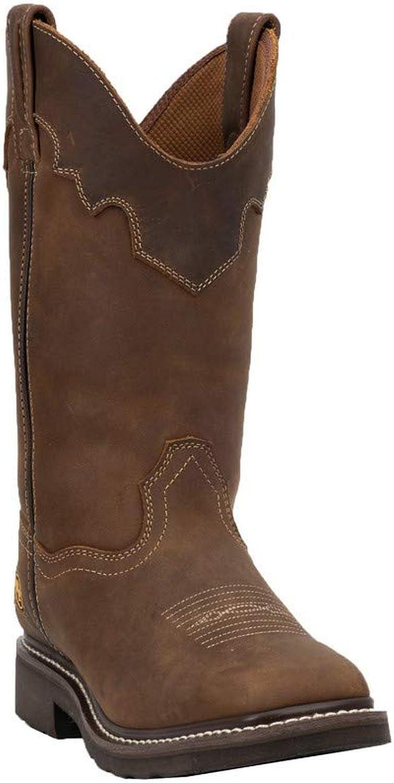 Dan Post Women's Parkston Steel Toe Leather Boot