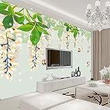 Inconsútil europeo simple y claro 3d fondo personalizado sala de estar TV pared tela mariposa cortina colgante sofá dormitorio papel pintado a papel pintado pared dormitorio autoadhesivo-400cm×280cm